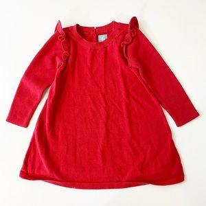 Baby GAP Toddler Girl Red Sweater 18-24 MO